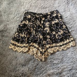 Dry Goods floral pattern shorts with elastic waist